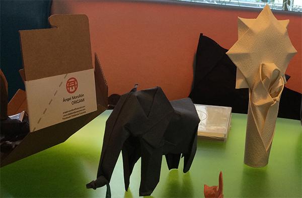 artinCom Angel Morollón origami
