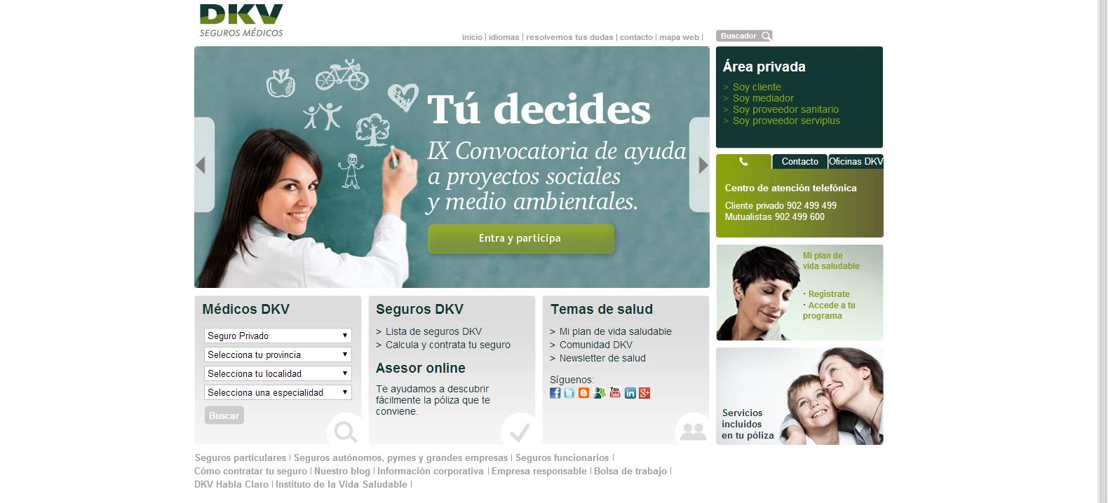 artinCom web DKV color verde